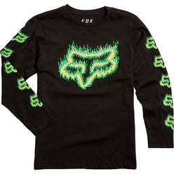 Fox Racing Flame Head Youth Long-Sleeve Shirts