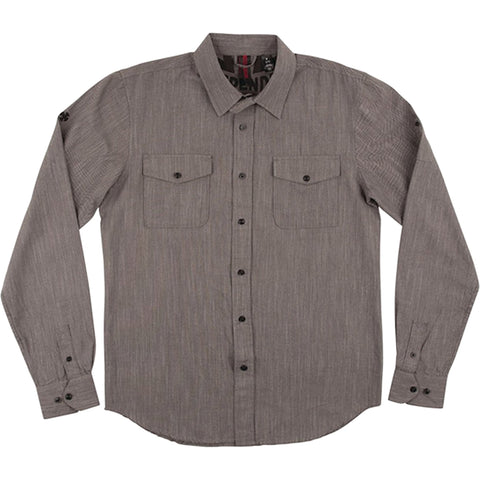 Dark Grey Chambray