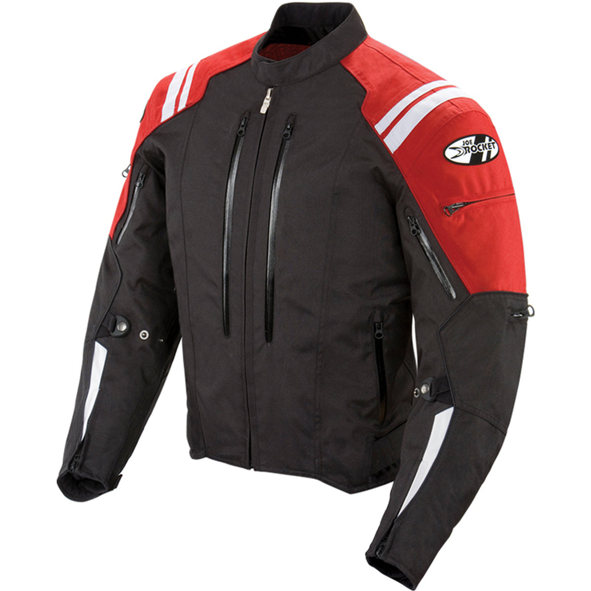 Joe Rocket Atomic 4.0 Men's Street Jackets - Red/Black