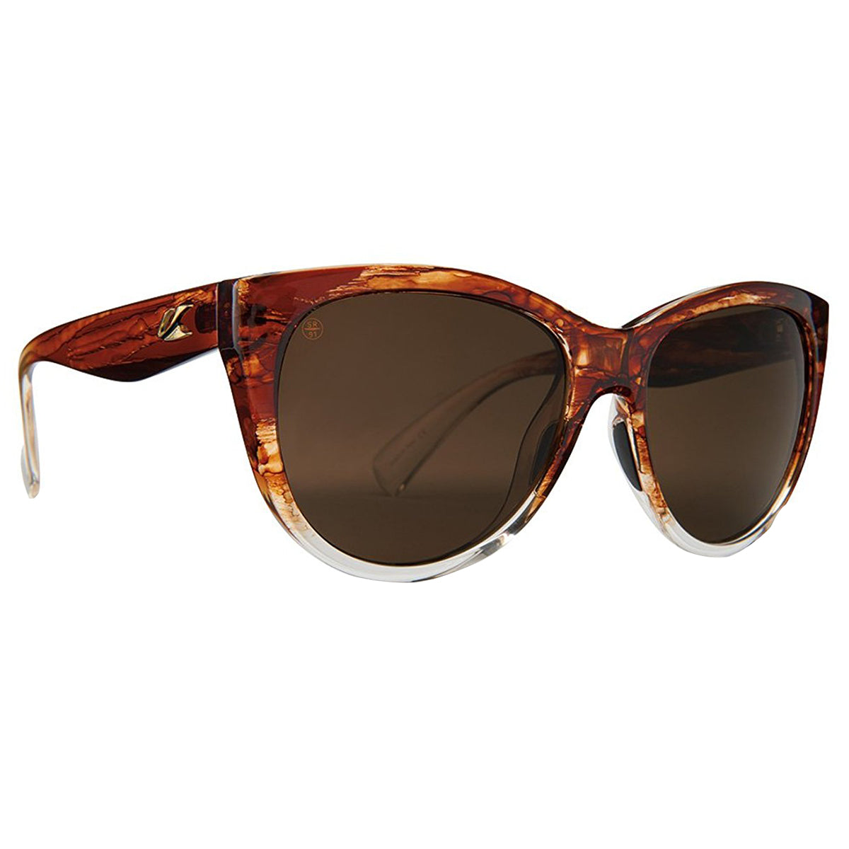 Kaenon Palisades Adult Lifestyle Polarized Sunglasses - Sepia / Brown