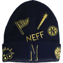 Neff Sportmanship Men's Beanie Hats (USED LIKE NEW / LAST CALL SALE)