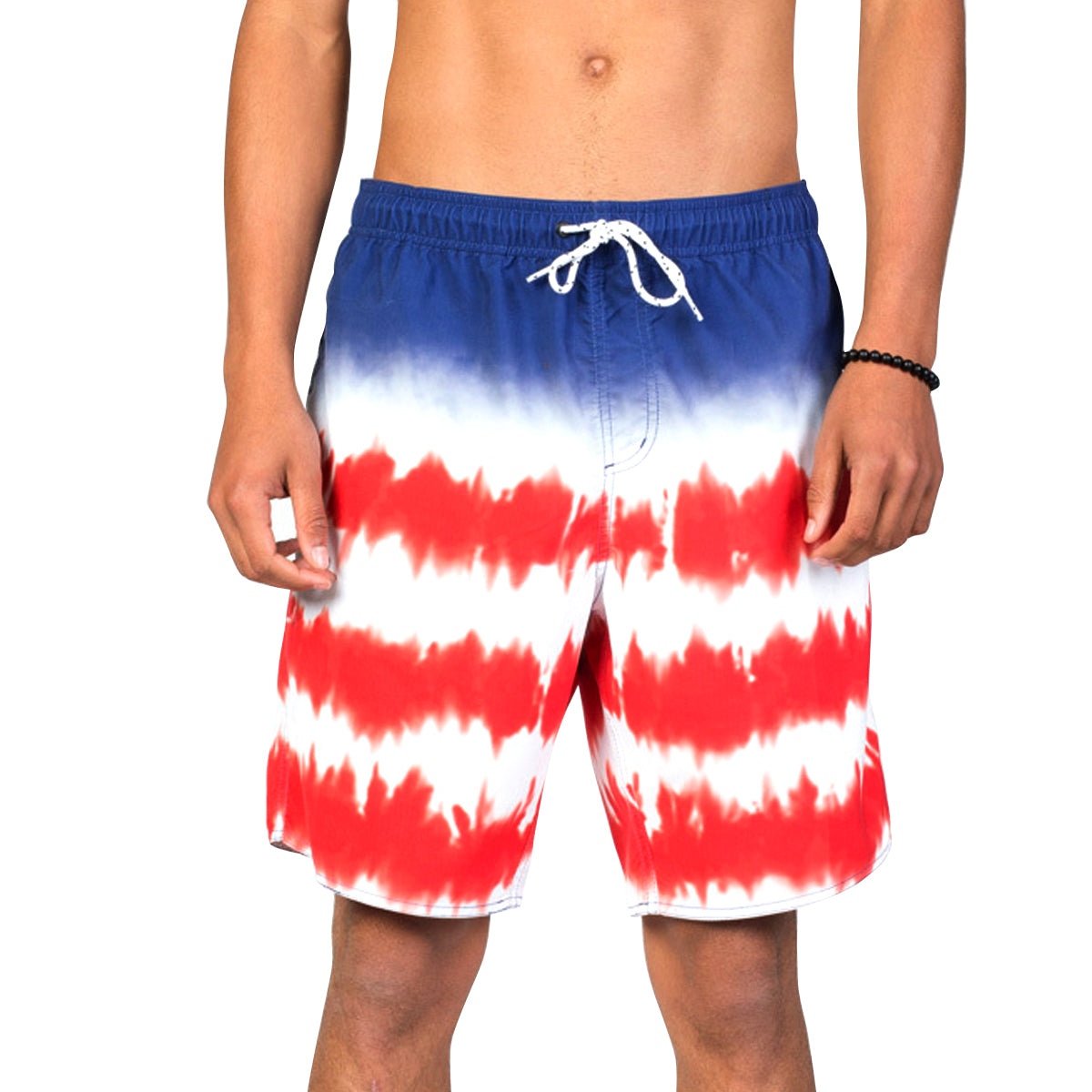 Neff Dye Stripe Hts Men's Boardshort Shorts - American