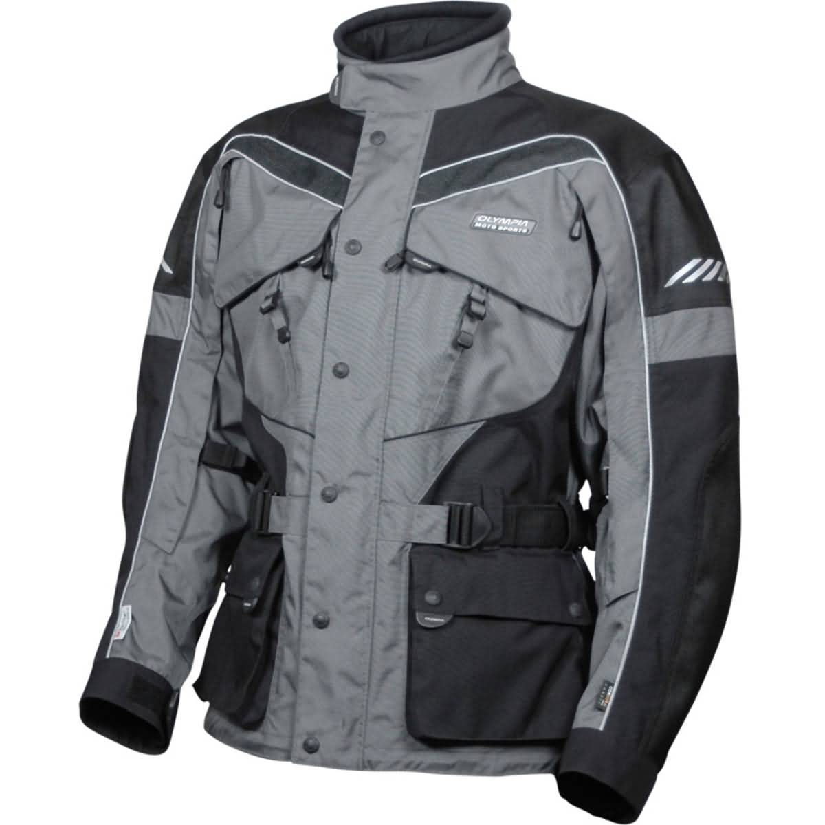 Olympia AST 2 Men's Street Jackets - Pewter / Black