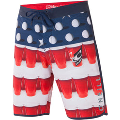 O'Neill Beer Pong Scallop Men's Boardshort Shorts (BRAND NEW)