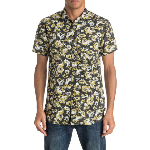 Quiksilver Drop Out Men's Button Up Short-Sleeve Shirts