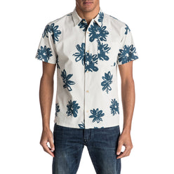 Quiksilver South Beach Dimes Men's Button Up Short-Sleeve Shirts
