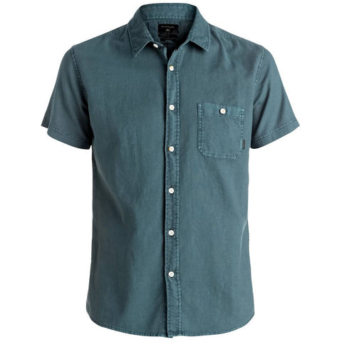 Quiksilver Timebox Men's Button Up Short-Sleeve Shirts
