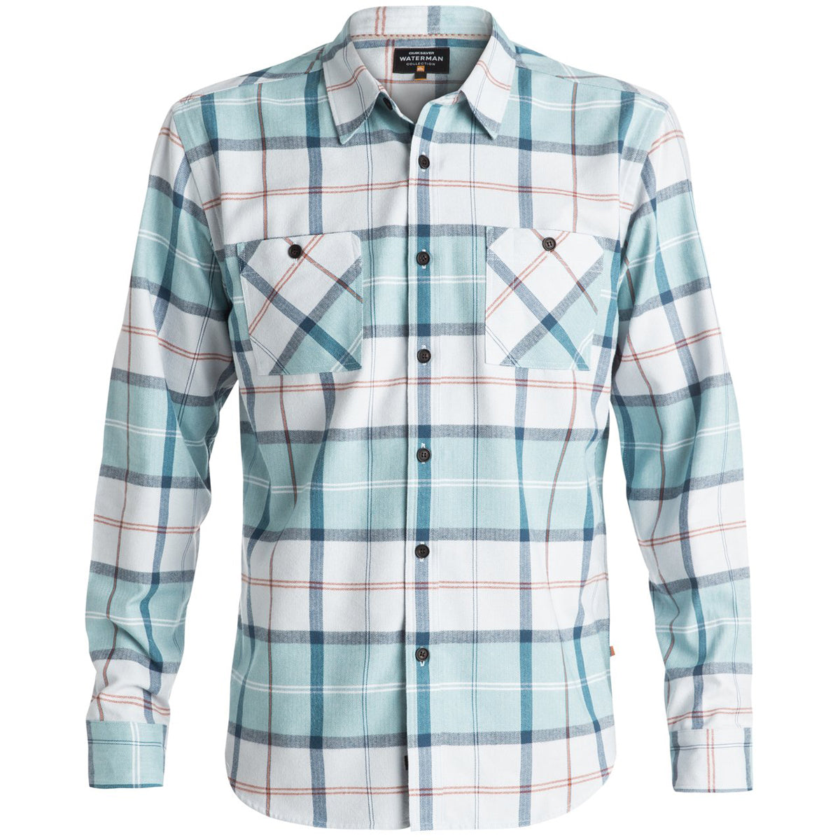 Quiksilver Waterman Day Hike Men's Button Up Long-Sleeve Shirts-AQMWT03302