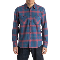 Quiksilver Go Forth Men's Button Up Long-Sleeve Shirts