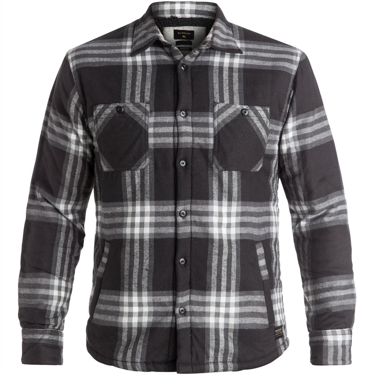 Quiksilver The Game Play Men's Button Up Long-Sleeve Shirts-EQYWT03427