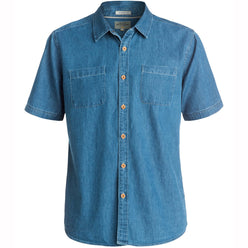 Quiksilver Corsair Men's Button Up Short-Sleeve Shirts (BRAND NEW)
