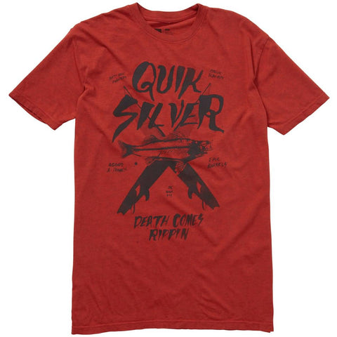 Quiksilver Death Rippin Men's Short-Sleeve Shirts