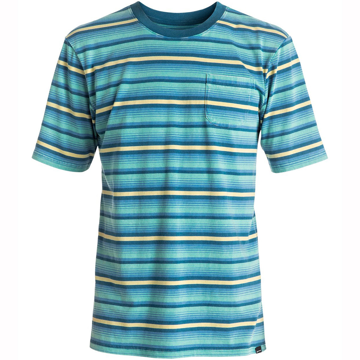 Quiksilver Mata Stripe Pocket Men's Short-Sleeve Shirts-EQYKT03526