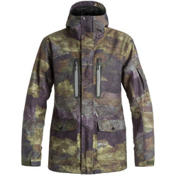 Quiksilver Dark And Stormy Men's Snow Jackets (BRAND NEW)
