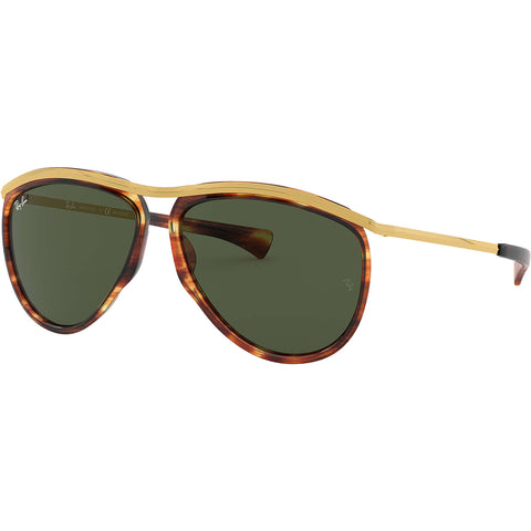 Ray-Ban Olympian Adult Aviator Sunglasses New Without Tags-0RB2219