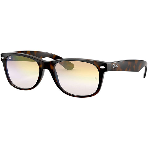 Ray-Ban New Wayfarer Flash Gradient Lenses Adult Lifestyle Sunglasses-0RB2132F