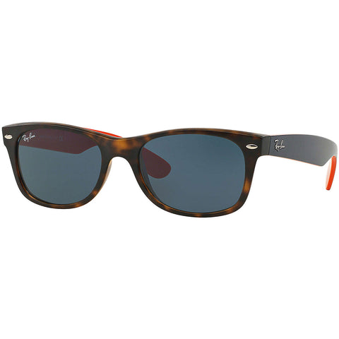 Ray-Ban New Wayfarer Bicolor Adult Lifestyle Sunglasses-0RB2132