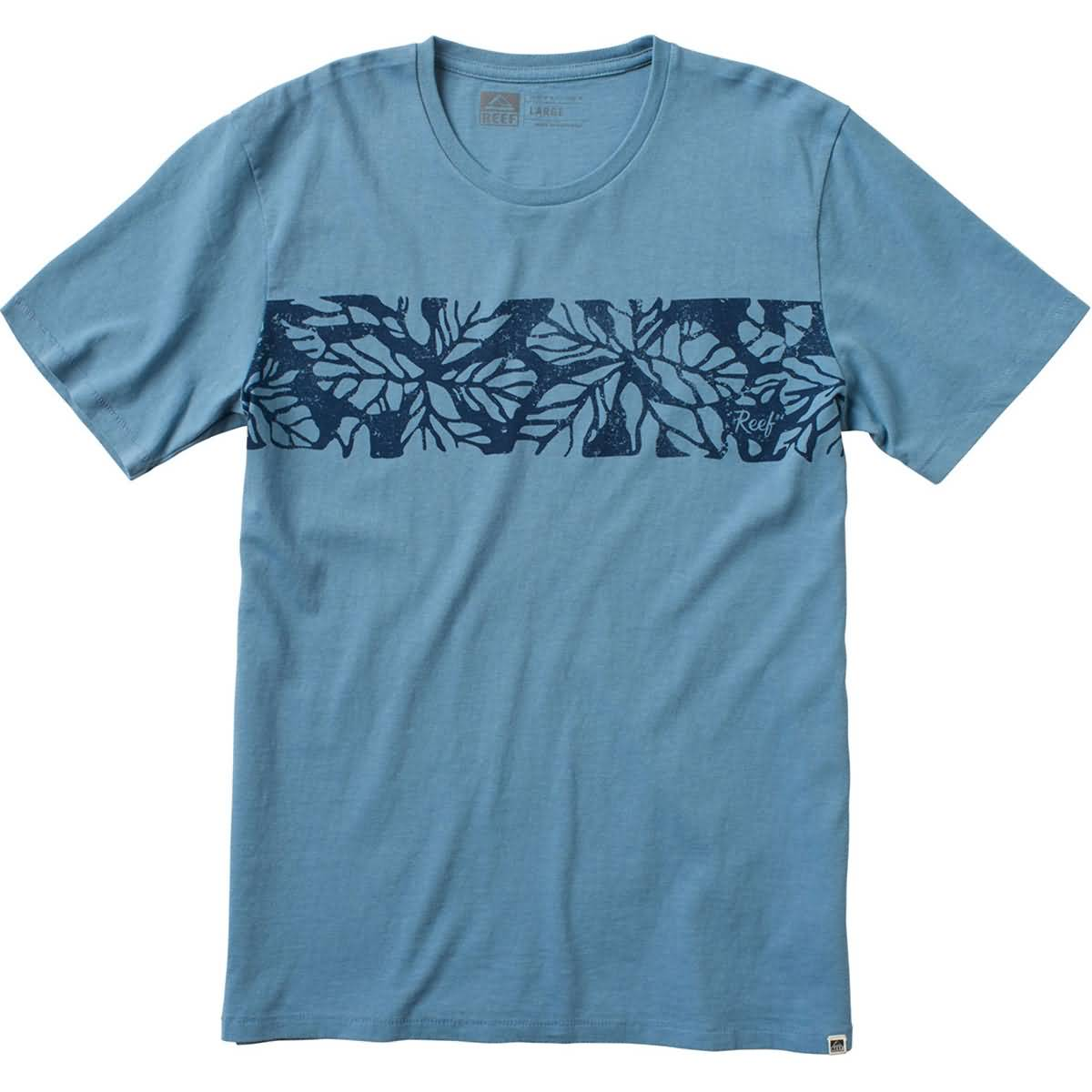 Reef Leafy Crew Men's Short-Sleeve Shirts (USED LIKE NEW / LAST CALL SALE)