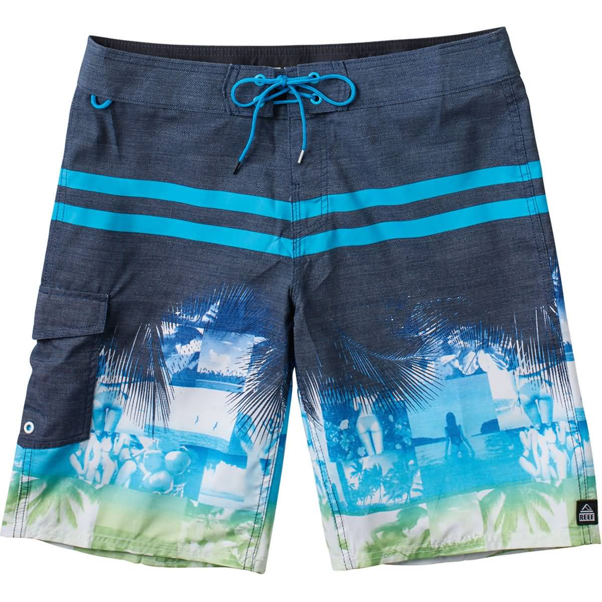Reef Maine Men's Boardshort Shorts-RF-0A2YF3BLU
