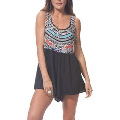 Rip Curl Tribal Myth Youth Girls Rompers