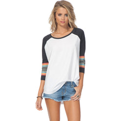 Rip Curl Sun Gypsy Raglan Women's 3/4-Sleeve Shirts (BRAND NEW)