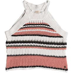 Roxy Nomad World Crochet Halter Women's Top Shirts (NEW)