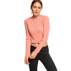 Roxy Joy And Smile Long Sleeve High Neck Women's Top Shirts (NEW)