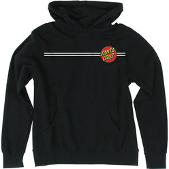 Santa Cruz Classic Dot Youth Boys Hoody Pullover Sweatshirts