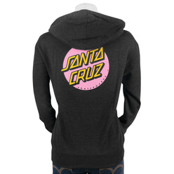 Santa Cruz Other Dot Women's Hoody Zip SweatShirts