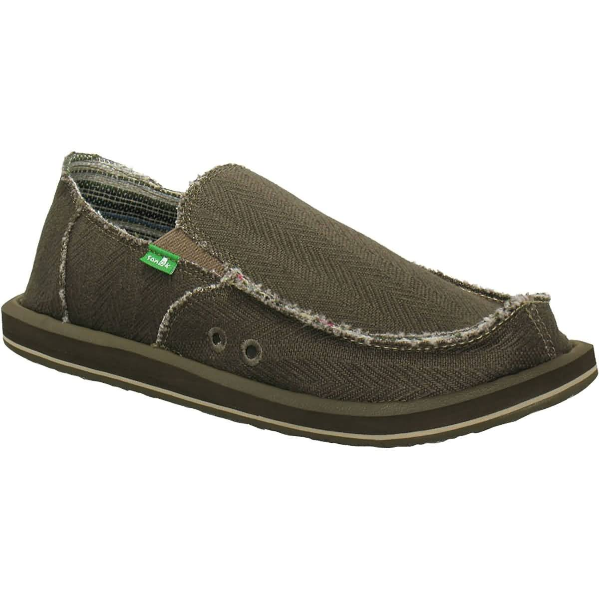 Sanuk Hemp Sidewalk Surfers Men's Shoes Footwear-SMF1020