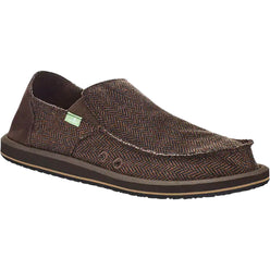 Sanuk Vegabond Tweed Men's Shoes Footwear (NEW - LAST CALL)