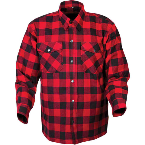 Scorpion Covert Flannel Men's Button Up Long-Sleeve Shirts