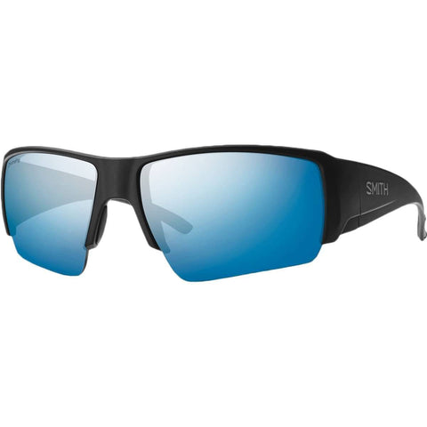 Smith Optics Captains Choice Chromapop Men's Lifestyle Polarized Sunglasses-CCRPUGMMB