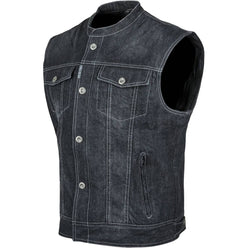Speed and Strength Soul Shaker Denim Men's Street Vests (BRAND NEW)