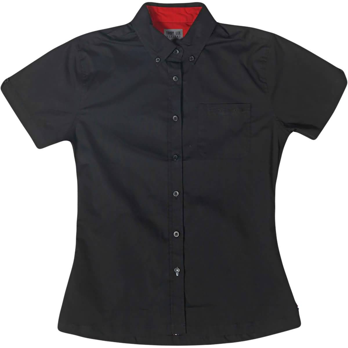 Troy Lee Designs Shop Women's Button Up Short-Sleeve Shirts-6402