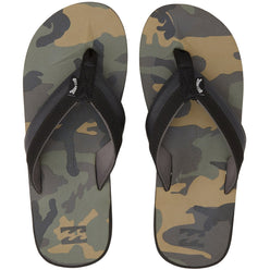Billabong All Day Impact Print Men's Sandal Footwear (USED LIKE NEW / LAST CALL SALE)