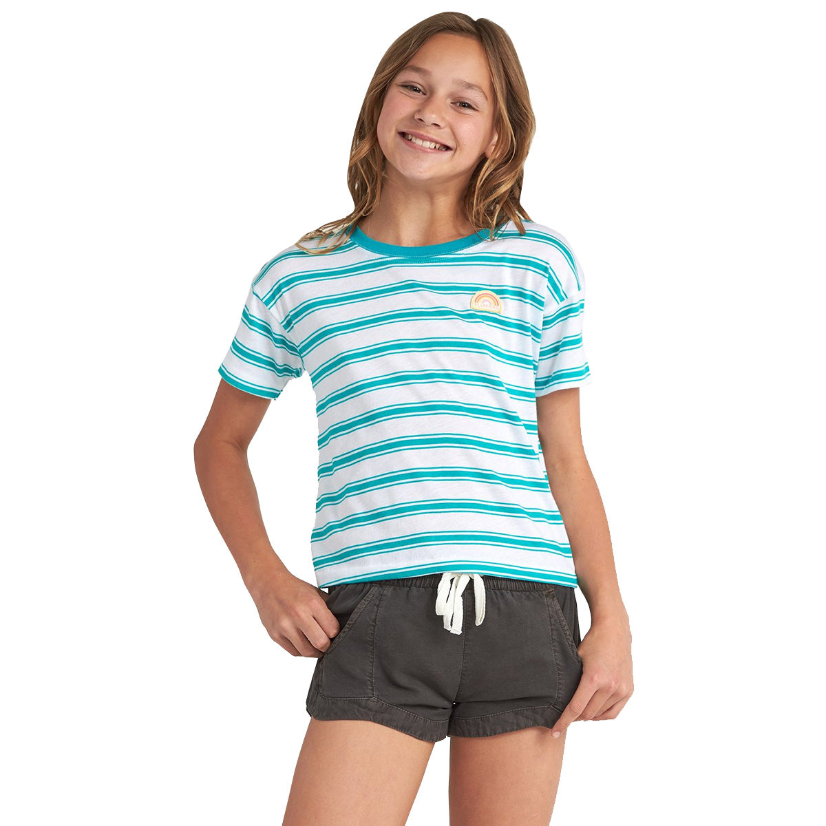 Billabong Beach Babe Youth Girls Short-Sleeve Shirts (USED LIKE NEW / LAST CALL SALE)