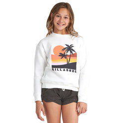 Billabong Retro Sunset Youth Girls Sweater Sweatshirts (USED LIKE NEW / LAST CALL SALE)