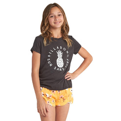 Billabong Sand And Surf Youth Girls Short-Sleeve Shirts (BRAND NEW)