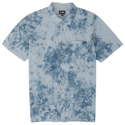 Billabong Sundays Tie Dye Men's Short-Sleeve Shirts (USED LIKE NEW / LAST CALL SALE)