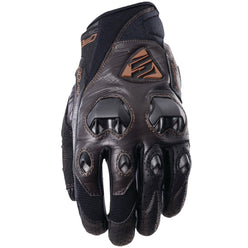 Five Stunt Evo Leather Adult Street Gloves (BRAND NEW)
