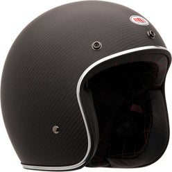 Bell Custom 500 Carbon Solid Adult Cruiser Helmets
