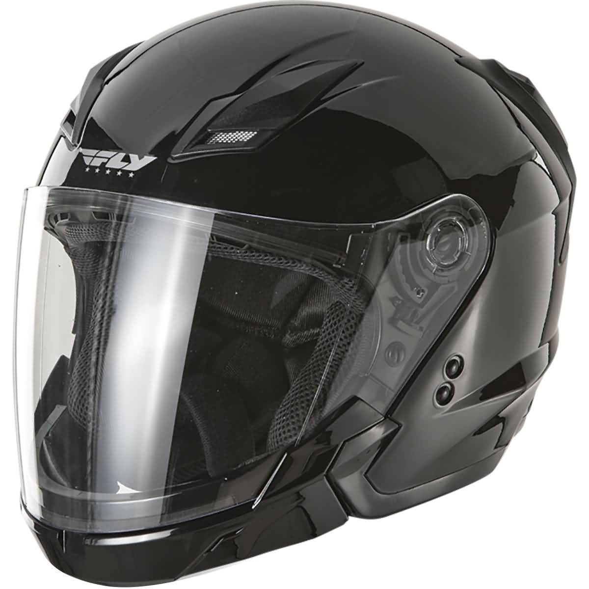 Fly Racing Tourist Solid Adult Cruiser Helmets-73-8100