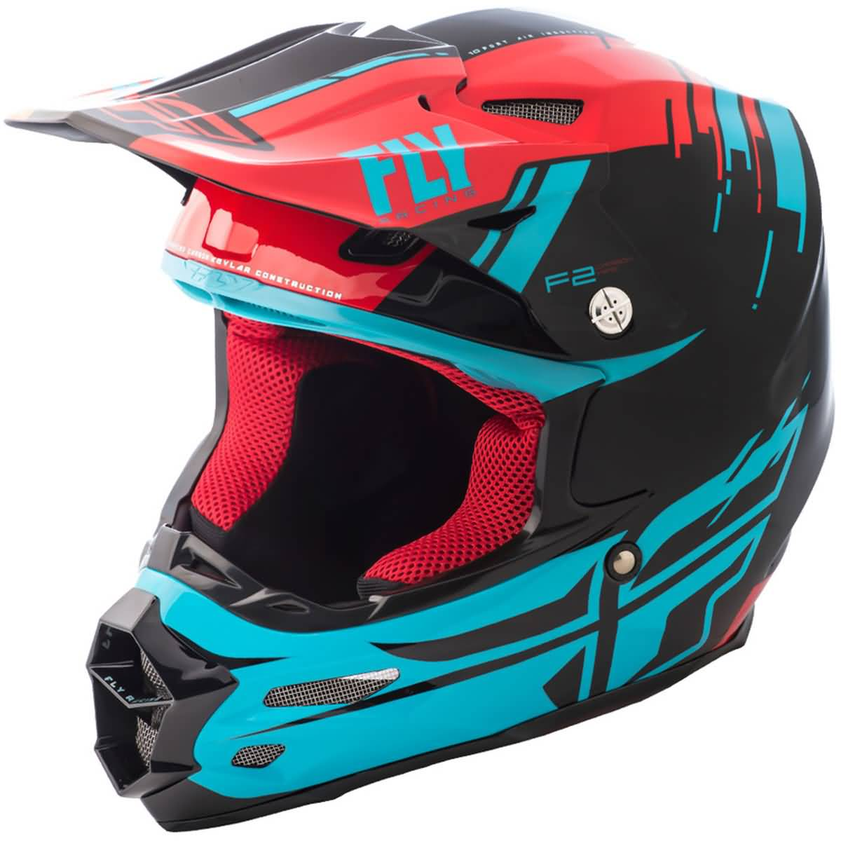 Fly Racing F2 Carbon Forge MIPS Adult Snow Helmets-73-4232