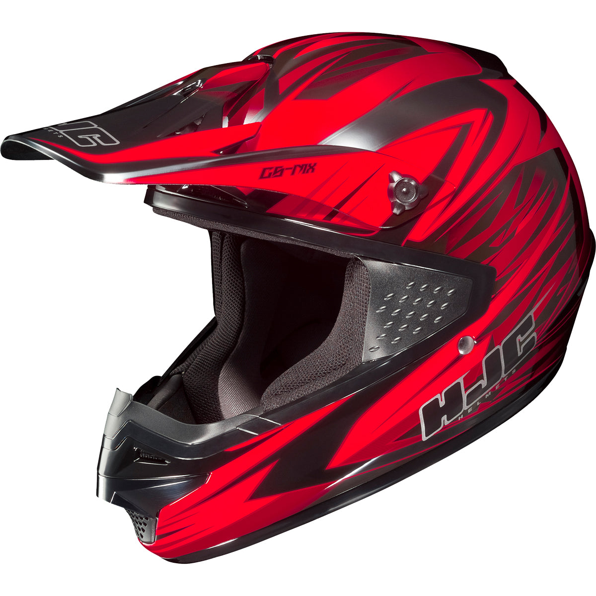 HJC CS-MX Shattered Adult Off-Road Helmets-0870