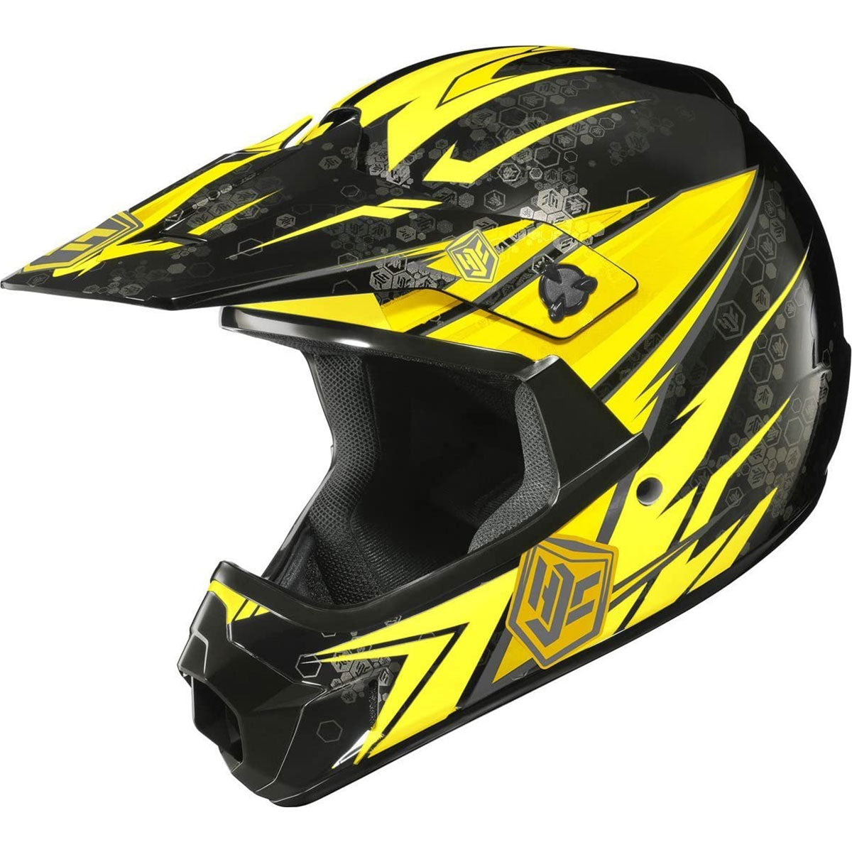 HJC CL-XY Pop-N-Lock Youth Off-Road Helmets-0863