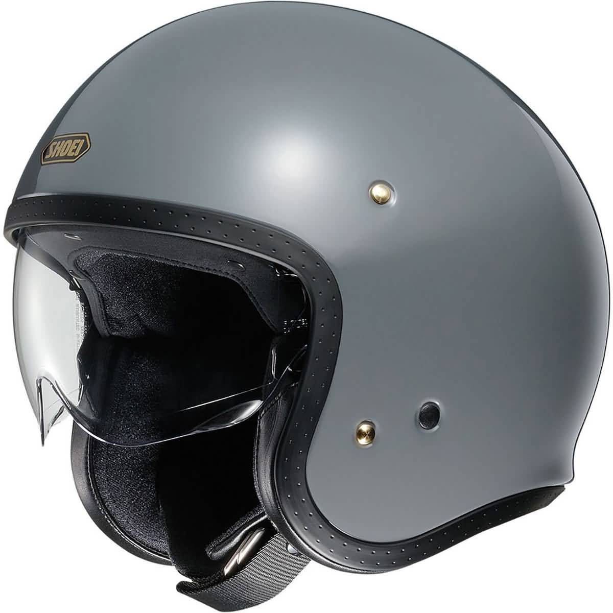 Shoei J-O Solid Adult Cruiser Helmets-0131