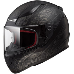LS2 Rapid Crypt Full Face Adult Street Helmets (NEW - MISSING TAGS)
