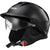 LS2 Rebellion Solid Half Face Adult Cruiser Helmets (LIKE NEW)