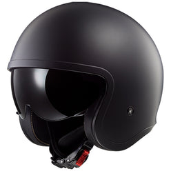 LS2 Spitfire Solid Open Face Adult Cruiser Helmets